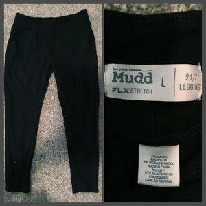 Black Mudd Pants